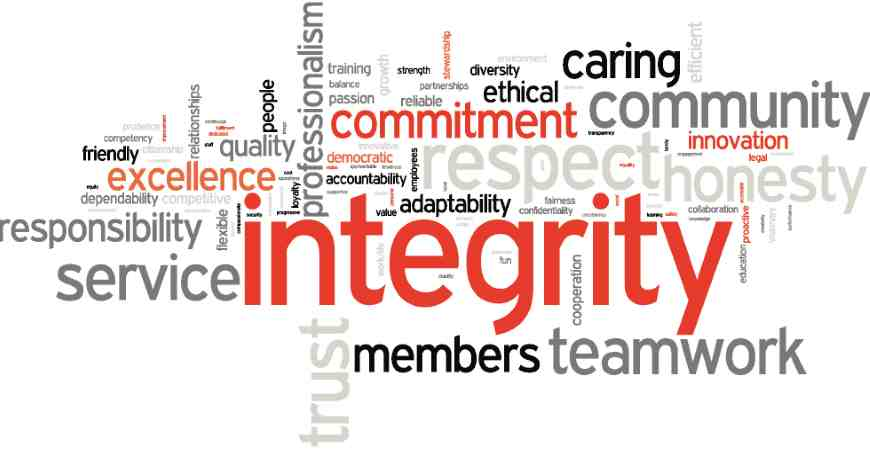 """The Long-Term Value of Integrity"" is locked The Long-Term Value of Integrity"